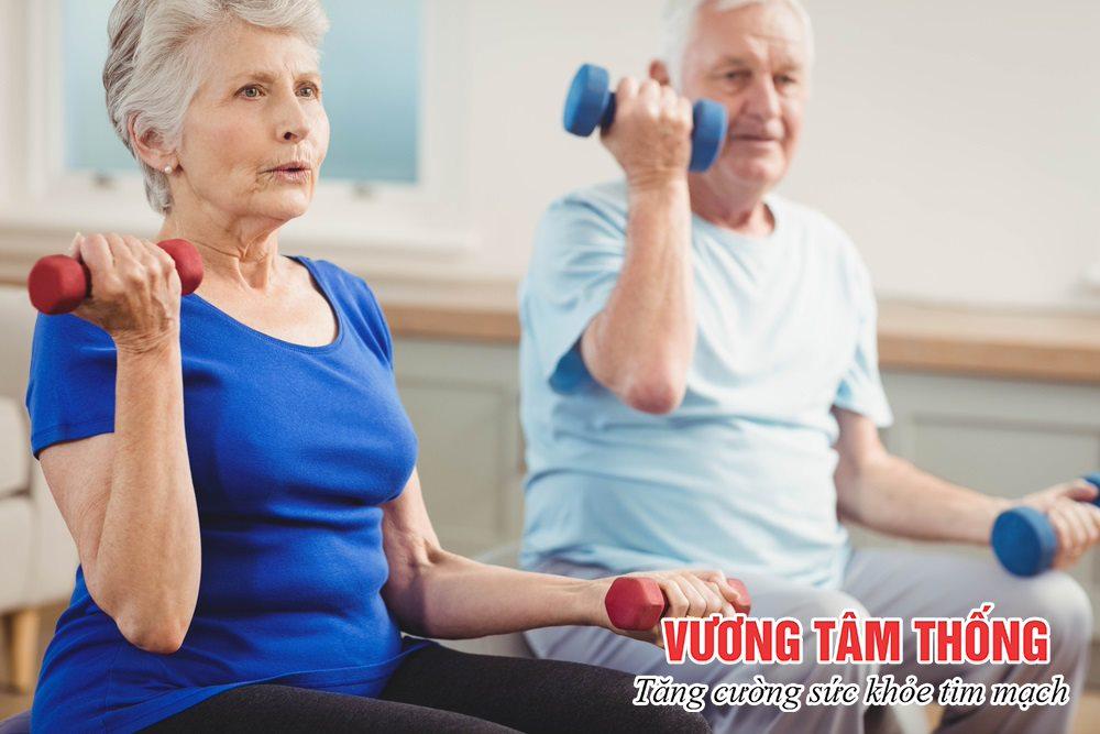 Bệnh nhân mạch vành nên dành 30 phút mỗi ngày để luyện tập thể dục